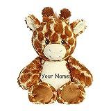 Personalized Ebba Noah's Ark Giraffe Plush Stuffed Animal Toy with Custom Name