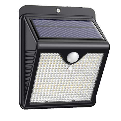 Solcellslampor utomhus 150 LED iPosible Solar Motion Sensor Säkerhetsbelysning Soldrivna lampor Vattentäta 2 000 mAh solcellslampor utomhus för trädgårdsstaket Dörr Gård Garage Pathway