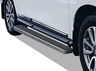 APS iBoard Running Boards 5 inches Custom Fit 2013-2020 Nissan Pathfinder (Exclude 15 Platinum) & 2013-2017 Infiniti QX60 (Nerf Bars Side Steps Side Bars)