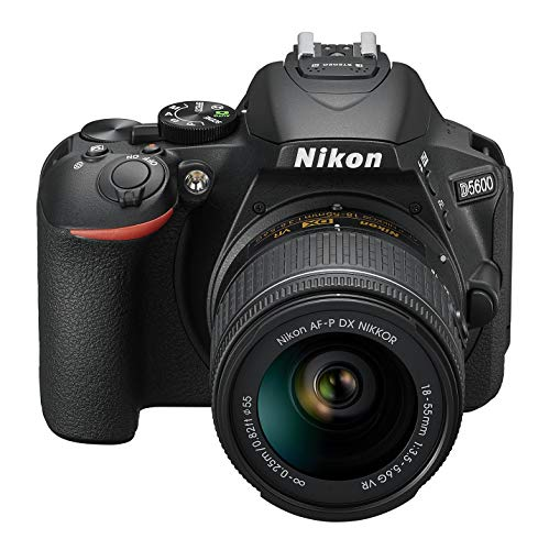 Nikon-D5600-Camara-reflex-de-24-MP-DX-CMOS-Visor-optico-Montura-Tipo-F-SnapBridge-D-Movie-y-Video-Time-Lapse-Kit-con-Objetivo-AF-P-VR-18-55-Estuche-y-Libro-Version-Nikonistas