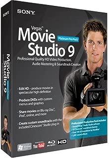 Sony Vegas Movie Studio 9 Platinum Pro Pack [OLD VERSION]