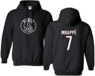 Spark Apparel New Paris Soccer Shirt #7 MBAPPE Men's Hooded Sweatshirt