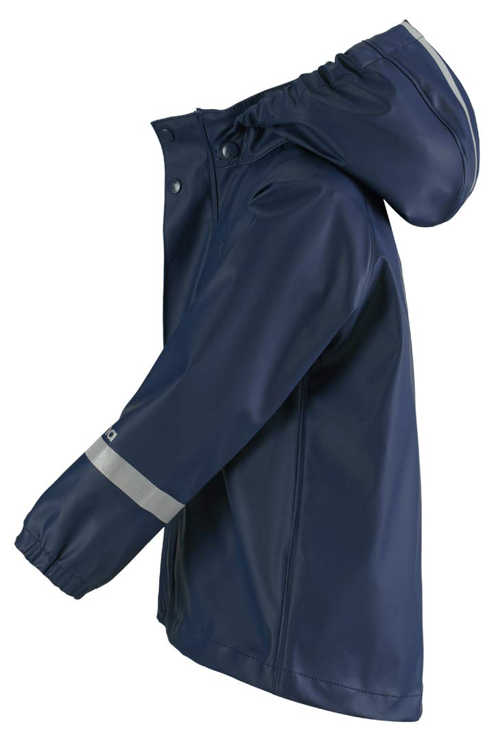 Reima Lampi Kids Waterproof Hooded Rain Jacket Lightweight Windproof Outdoor Coat for Kids