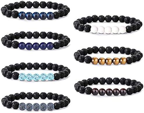 Top 10 Best essential oil bracelets for women lava rock Reviews