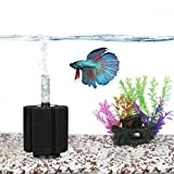 SunGrow Neon Tetra Underwater Corner Aquarium Filter, Works for Tropical Fish & Breeder Aquarium, Perfect for Fry & Small Fish & Must-Have for Aquarium Hobbyist, Airline Tube Not Included, 1 Pack