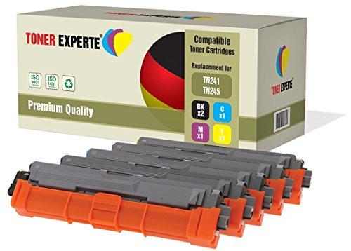 Pack de 5 TONER EXPERTE® Compatibles TN241 TN245 Cartuchos de Tóner Láser para Brother DCP-9015CDW DCP-9020CDW MFC-9140CDN MFC-9330CDW MFC-9340CDW HL-3140CW HL-3142CW HL-3150CDW HL-3152CDW HL-3170CDW