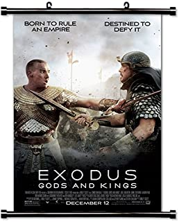 Exodus Gods and Kings Movie Fabric Wall Scroll Poster (32x47) Inches