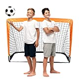 Pliable Cage de Foot, But de Foot Portable pour Enfant Exterieur, But de Foot Enfant Exterieur pour Adulte Enfant Jardin Entrainement Football, Rapide à Installer