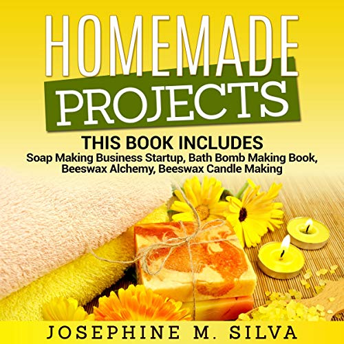 Homemade Projects: 4 Manuscripts audiobook cover art