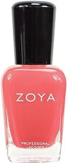 ZOYA ゾーヤ ネイルカラーZP441 ELODIE エロディ 15ml 明るいコーラルピンク マット/クリーム 爪にやさしいネイルラッカーマニキュア