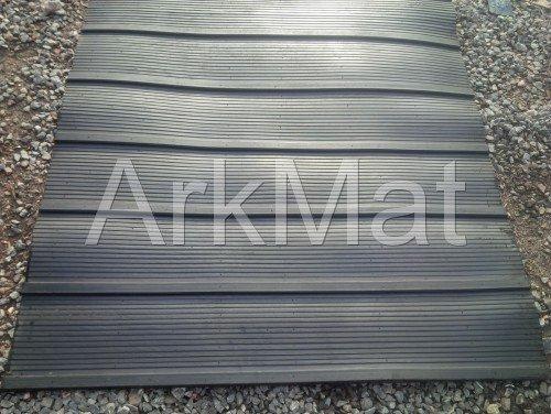 Ark GUMMIMATTE für PFERDEBOX-ANHÄNGER, 2,1 x 1,2 m, stabil