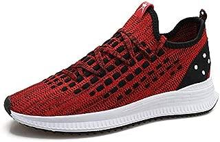 FYXKGLa 2019 New Summer Sports Shoes Men's Trend Student Sports Wind Running Shoes Men's Shoes (Color : Red, Size : 41EU)