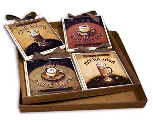 CREAZIONI ANTART Idea Regalo Set Quadretti Shabby Chic Country ARREDAMENTI Cucina 15x15 Art sr7 (8)