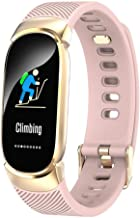 Smartwatch dames IP67 waterdicht horloge, hartslag, slaapmonitoring, informatie, oproepherinnering, slim sporthorloge