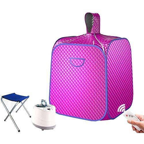 Draagbare sauna Personal Spa sauna pak gewichtloss lichaam barrel sauna kit 1-9 versnellingen instelling met kleine stoel