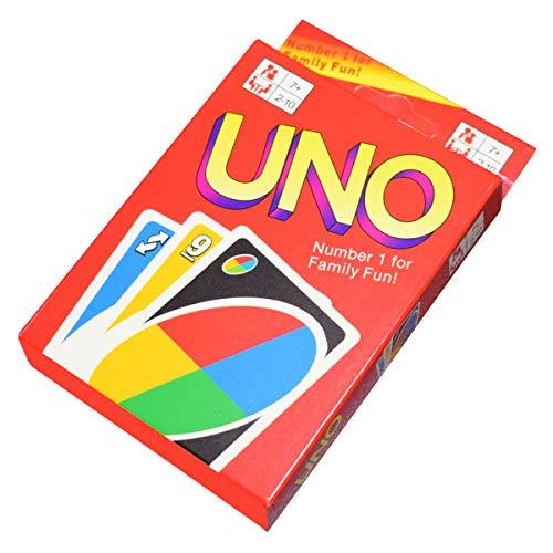 Juego de Cartas y Juegos de Mesa UNO, Apto para 2 a 10 Jugadores, Juegos de Cartas y Juegos de Mesa a Partir de 7 años (UNO Flip) (UNO)