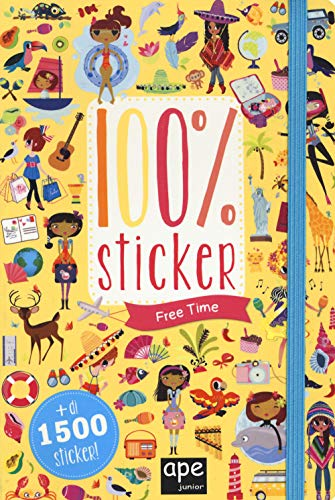 Free time. 100% sticker. Con adesivi. Ediz. a colori