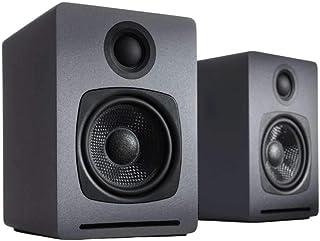 Audioengine A1 Home Musik System   Leistungsstarke aptX Bluetooth-Stereolautsprecher für das Bücherregal als Regallautspre...