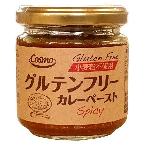 コスモ直火焼グルテンフリーカレーペースト辛口180g