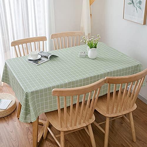 DSman Adecuado para Cocinas Exteriores O Interiores Mantel Mesa Mantel Pastoral de celosía