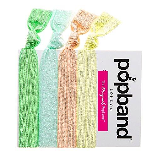 Popband Sorbet - Paquet de 4 Élastiques à Cheveux Popbands