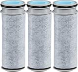 Brita Replacement Pour Through Filters, 3 Count (Pack of 1), Gray