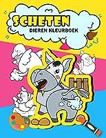 Scheten dieren kleurboek: Grappige scheten dieren kleurboek voor kinderen, grappig geschenken voor kinderen, scheten kleurboek