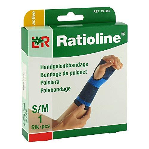 RATIOLINE active Handgelenkbandage Gr.S/M 1 St