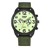 Herren Uhr Mode Beiläufig Einfachheit Uhren Analoger Quarzuhr Leuchtend Kalender Armbanduhr Mit...