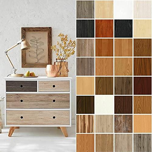 (7,40 €/m²) d-c-fix Verschiedene Holz-Optik Dekore/Maße Selbstklebende Folie Möbel Küche Tür Deko Klebefolie (Ribbeck Oak Eiche, 200 x 67,5cm)