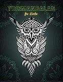 Tiermandalas für Kinder: 80 wunderschöne Tiermandalas zum Ausmalen in einem hochwertigen Malblock-Malbuch zum Entspannen und zur Förderung der Kreativität (Mandala Malbuch Kinder Band 3)