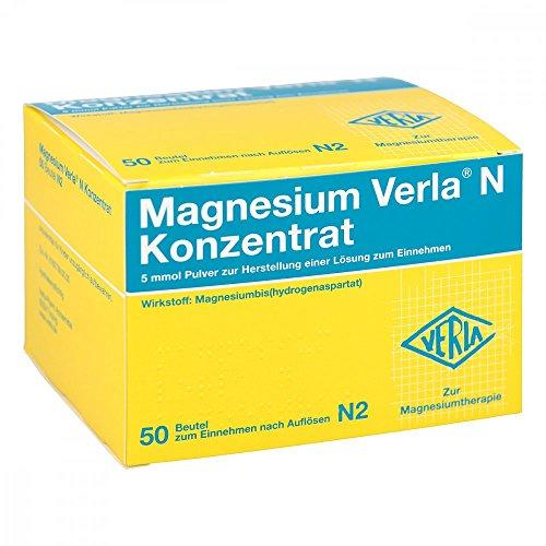 MAGNESIUM VERLA N Konzentrat Plv.z.H.e.L.z.Einn. 50 St