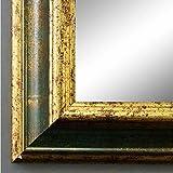 Spiegel Wandspiegel Badspiegel - Bari Grün Gold 4,2 - handgefertigt - 200 Größen zur Auswahl -...