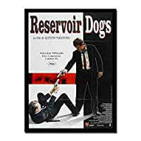 貯水池犬クラシック映画ポスター壁アート装飾キャンバスアートポスターと壁アート写真プリント現代家族の寝室の装飾ポスター50x70cmフレームなし