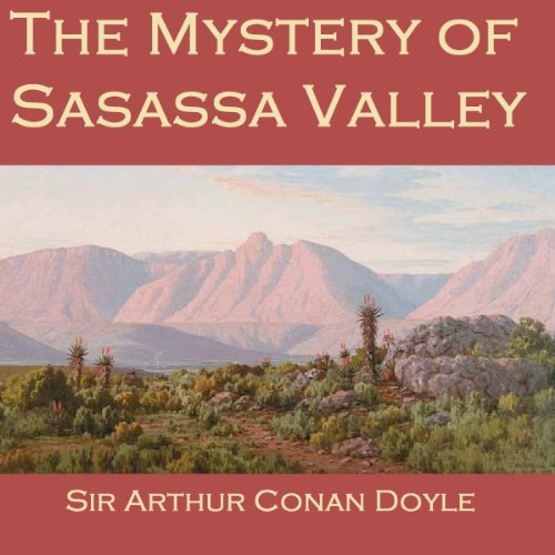 The Mystery of Sasassa Valley audiobook cover art