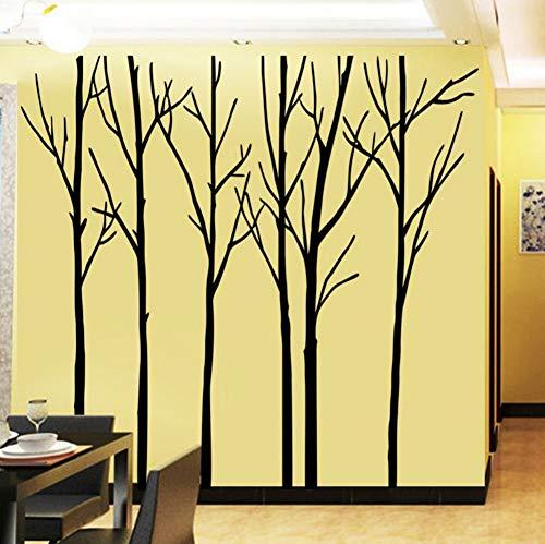 Große Größe Ast Wandaufkleber Living Toom Schlafzimmer Art TV Hintergrund Vinyl Dekoration Removable PVC Aufkleber 200x288 cm