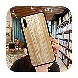 Coque de téléphone tendance en bois pour Samsung A20 A30 30s A40 A7 2018 J2 J7 Prime J4 Plus S5...