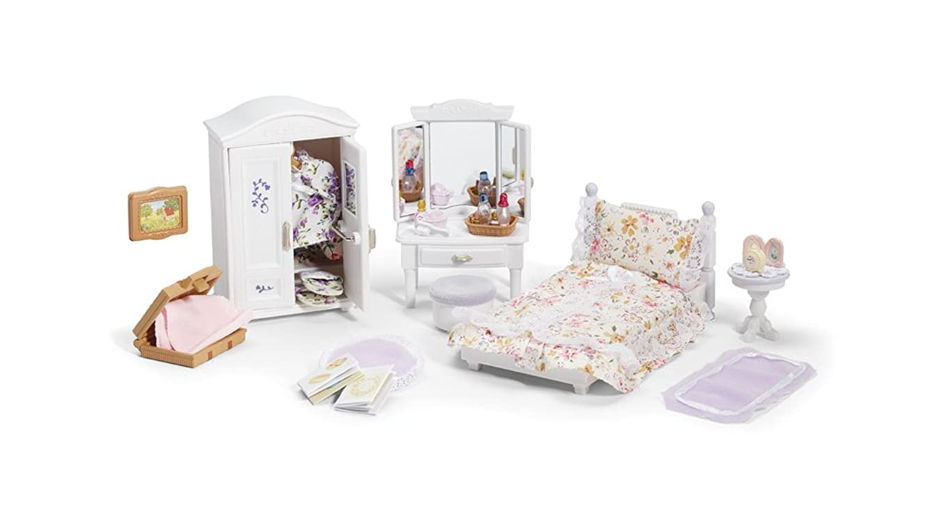 Calico Critters Deluxe Floral Bedroom Set j42757046