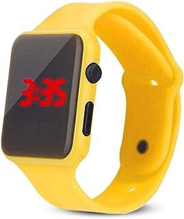 Montres pour enfants, calendrier de jour d'alarme électrique de montres-bracelet LED de sport imperméable LED, montres ext...
