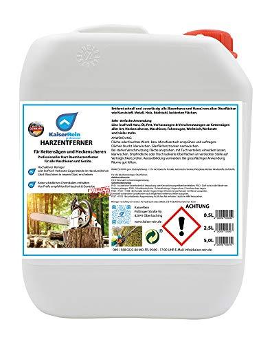 KaiserRein Kettensägen- und Werkreug-reiniger/Harzentferner/Baumharzentferner Spray 5 L Kanister Auto Werkzeug