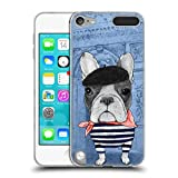 Head Case Designs Officially Licensed Barruf French Bulldog Dogs Soft Gel Case Compatible with Apple iPod Touch 5G 5th Gen