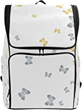 YCHY Backpack Creative Butterfly Cloth Vip Texture On bag