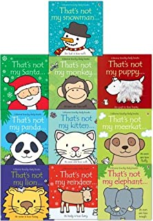 Thats Not My Toddlers 10 Books Collection Set Pack Fiona Watt (Touchy-Feely Board Books)