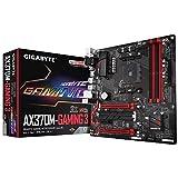 Gigabyte GA-X370M-GAMING 3 Mainboard 4X DDR4 DIMM, dual PC4-25600U/DDR4-3200, 64GB schwarz