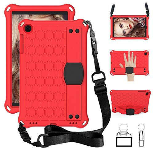RZL PAD & TAB cases For Samsung Galaxy Tab A 10.1 2019, Shock Proof EVA full body tablet cover for Samsung galaxy Tab A 10.1 inch 2019 SM T510 T515 (Color : Red, Size : SM T510)