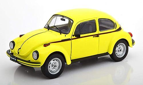 Solido- Volkswagen Beetle 1303 Sport-Brillant gelg-1 18-S1800511 Voiture Miniature de Collection, 1800511, Jaune