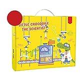 CCCYT Kit De Ciencias para Niños Laboratorio De Quimica Kit Ciencias Niños Juguetes Educativos para Niños Niñas De 5-11 Años Experimentos Científicos para Niños