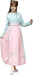Ez-sofei Women's Ancient Chinese Traditional Hanfu Dress Cosplay Costume Set