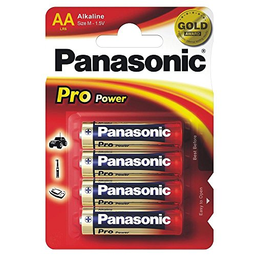 Panasonic pro Power Gold-aa Standard-Alkali-batterien gekrempelt 4