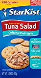 StarKist Ready-to-Eat Tuna Salad Lunch Kit, Original Deli Style, Pack of 12